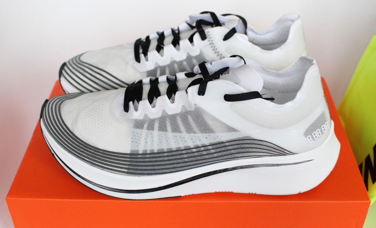 Nike NikeLab Zoom Fly SP Running White Summit Black OG OG OG US 13 New 16c534