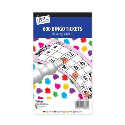 BINGO GAME PADS 480 TICKETS JUMBO BOOKS MARKER PENS /& DABBERS CHOOSE PRODUCT