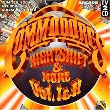 Commodores Nightshift & more-Hits I & II [2 CD]