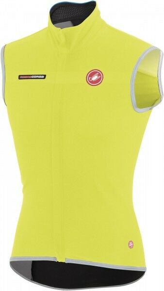 Castelli Fawesome 2 Vest Sports Bicycle with stormstopper, Yellow S - 4514514