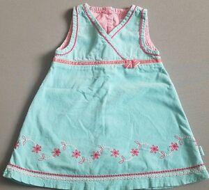 Pumpkin-Patch-Dress-Infant-Girl-Size-6-12mths-Blue-Pink-Winter-2008