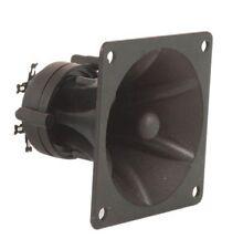 2 Units / Pair Piezo Horn Tweeters 85 x 85 x 70mm High Impedence Power Max 150W
