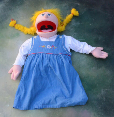 Lot of 3 Large Ministry Puppets. Marionette