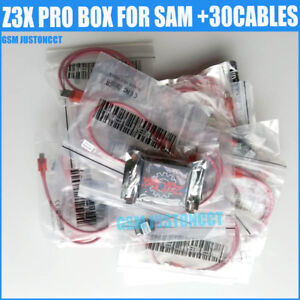 Details about z3x pro box activated For Samsung unlocker Repair Phone+30  cables