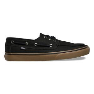 Vans Chauffeur SF Black Medium Gum Slip On Skate UltraCush Men s ... 95af0ef72