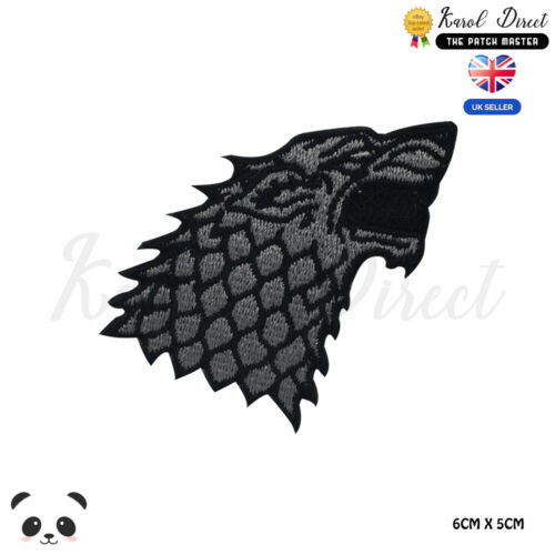 Game of Thrones Embroidered Iron On //Sew On Patch Badge For Clothes etc