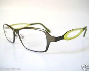 image is loading vanny italy 50 16 135 spring green modern - Modern Glasses Frames