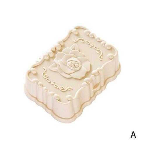 Plastic Bathroom Soap Box Shower Dish Case Holder Container Home// Travel US M3P1