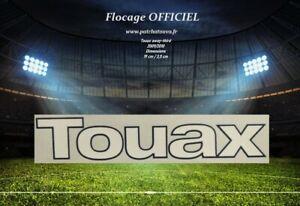 France flocage transpol TOUAX monblason maillot domicile OM 2009/2010