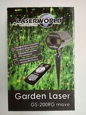 Artikelbild Laserworld GS-200RG move II 100mW/650nm IP67 Gartenlaser