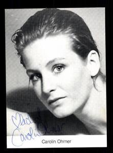 Autogramme & Autographen Temperamentvoll Carolin Ohrner Autogrammkarte Original Signiert # Bc 117446 Starke Verpackung