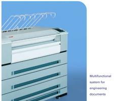 Oce Tds 600 Wide Format Printer Scanner Plotter Blueprint Free Shipping