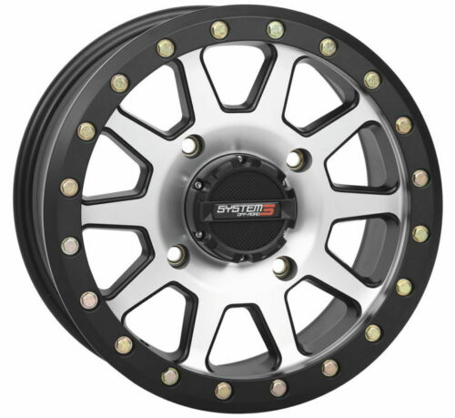 Machined Dragonfire Racing System 3 SB-3 Beadlock Wheels 14X7 4//110 5+2 +30MM