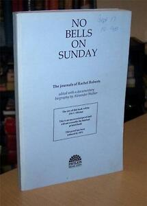 Rare-PROOF-Copy-NO-BELLS-ON-SUNDAY-Rachel-Roberts-Journals