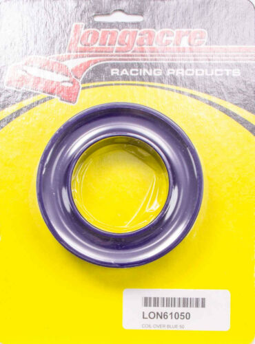 """LONGACRE SPRING RUBBER BLUE-50 COIL-OVER SPRING TYPE  #61050  3//4/""""THICK RACING"""