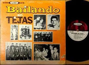 TEJANO-TEX-MEX-LP-BAILANDO-EN-TEJAS-Little-Joe-Shorty-amp-Corvettes-Beto-Garza