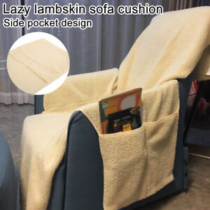 Lazy-Fleece-Sofa-Cover-Quilted-Couch-Protector-Slipcovers-Recliner-Covers-Mat