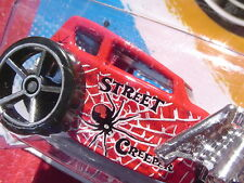 RED & CROME 2012 New Models HW STREET CREEPER 32/247 New SEALED Blister Pack!