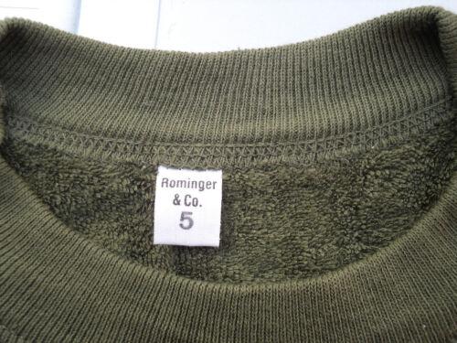 Taglia Large-NUOVO Verde TERMICA top//maglione Autentico Esercito Tedesco