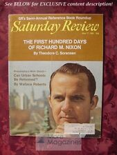 Saturday Review May 17 1969 WALLACE ROBERTS JOHN W LYON THEODORE C. SORENSEN