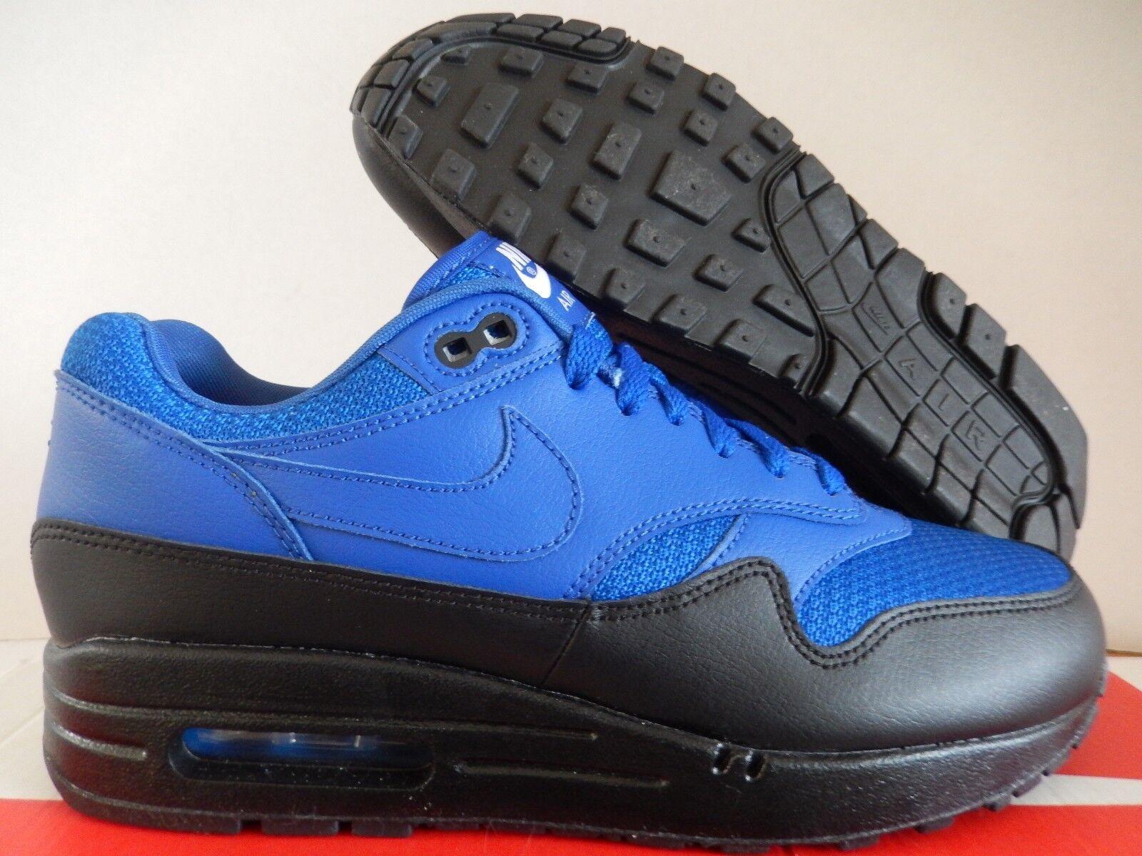 MENS NIKE AIR MAX 1 ID BLUE-BLACK SZ 7 MESH TOE! [943756-972]