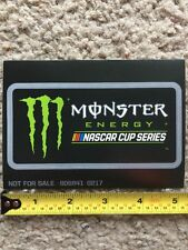 Monster Energy Drink NASCAR Cup Series Logo Sponsor Sticker Decal