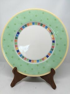 Image is loading Villeroy-&-Boch-TWIST-ALEA-VERDE-Salad-Plates- & Villeroy u0026 Boch TWIST ALEA VERDE Salad Plates 8 1/2