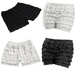 25c27412c1e1 8 Layers Lace Frilly Ruffle Knicker Sexy Underwear Shorts Hot Pants ...