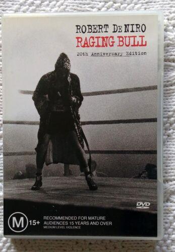 1 of 1 - RAGING BULL- 20TH ANNIVERSARY EDITION (DVD) R-4,LIKE NEW, FREE POST