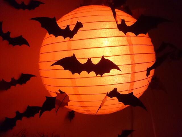 12Pcs Set Black 3D DIY PVC Bat Wall Sticker Decal Halloween Festival Decoration