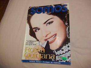 Details About Somos Uno Rosita Quintana A Mexico Le Debo Lo Que Soy