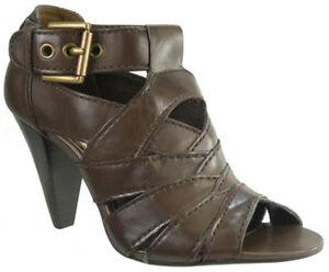 e8a3c791a2f New. Coach Harah Women s Peep Toe Leather Shoes Size US 8.5 M ...