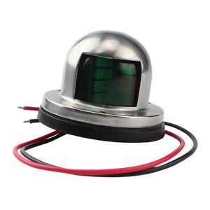 2IN1-LED-Light-12V-Boat-Marine-Yacht-Bow-Navigation-Stainless-Steel-WE9
