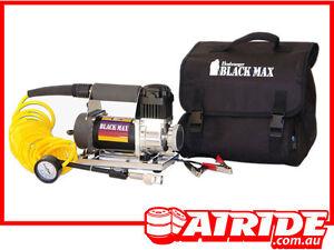 BUSHRANGER-BLACK-MAX-12-VOLT-AIR-COMPRESSOR-KIT-SUIT-2WD-4WD-HILUX-RODEO-ETC