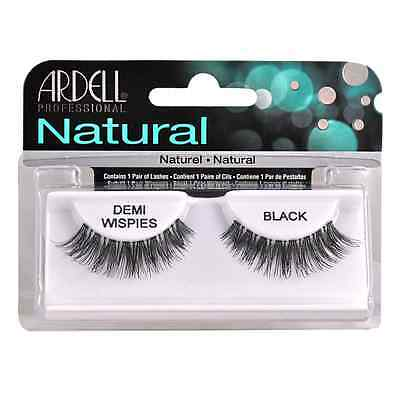 Ardell InvisiBrand Eye Lash Demi Wispies Black - 65012 x 4 Pack