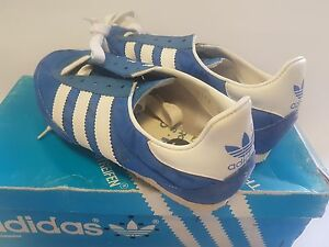 NEW ADIDAS MEN JET VINTAGE TRACK SPIKES SHOES NEW OLD STOCK US SIZE ... 3420e20db