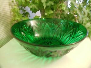 Green anchor hocking bowl