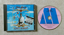 """CD AUDIO INT/ EDDY MURPHY """"LOVE'S ALRIGHT"""" 1992 MOTOWN 530 139-2 MADE IN FRANCE"""