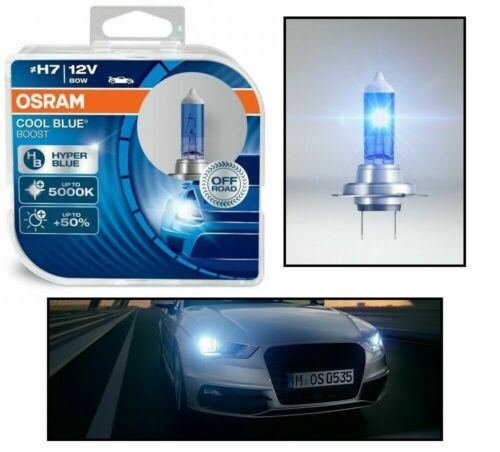 2 AMPOULE H7 12V 80W OSRAM COOL BLUE BOOST XENON LOOK 5000K  VW NEW  BEETLE
