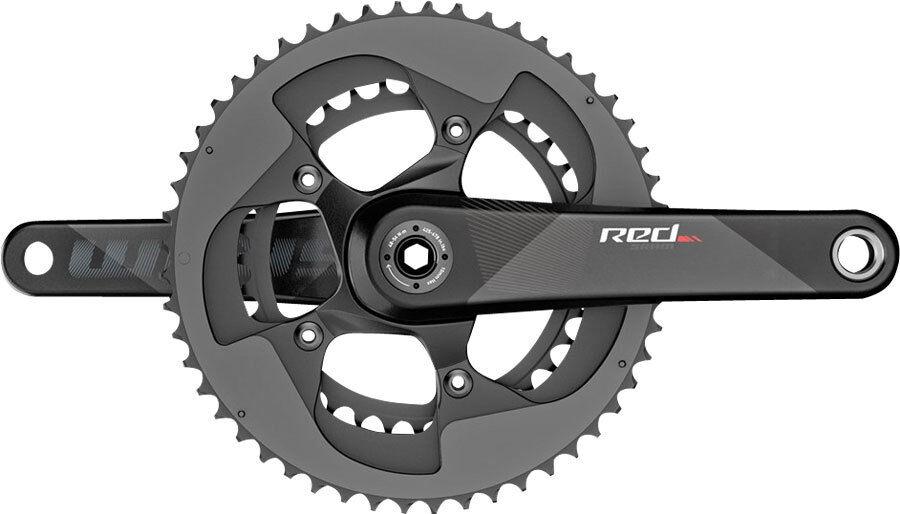 SRAM rosso BB30BB386 172.5mm Crankset 5034 Chainrings