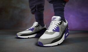 Nike Air Max 90 Retro Hyper Grape Violet UK 8 US 9 force 1 95 Og 97 98 III 3 AF1