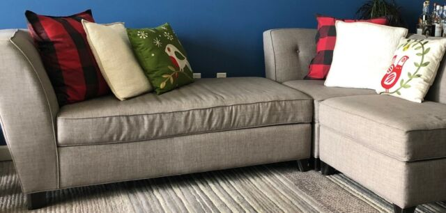 Miraculous Dorel Living Da7567 Sec Kaci Grey Fabric Wood Sectional Sofa Creativecarmelina Interior Chair Design Creativecarmelinacom