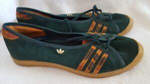 Adidas Adria Green Ballerina Shoes Sleek Series size 5.5 excellent ... dcf01937cf