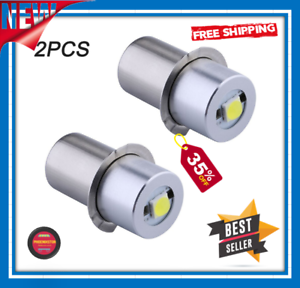 Details about  /Led Bulb Ultra Bright Maglite Conversion Upgrade 3 To 6 C D Cell 350 Lumen Model