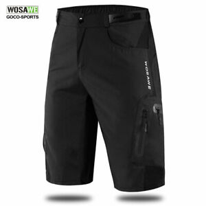 Men-Baggy-Cycling-Shorts-MTB-Bike-Padded-Pants-Downhill-Bicycle-Adjustable-Waist