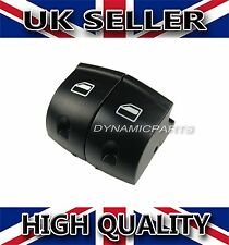 Audi A3 A6 Q7 Pair of Window Control Power Switch Button Covers Front