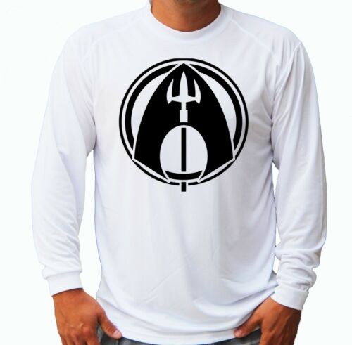 Aquaman Fishing Boat Sport Men Long Sleeve UPF 30 T-Shirt Sun UV Protection Gift