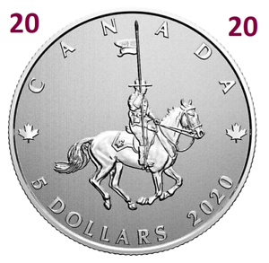 2020-Canada-039-s-National-Police-Force-Pure-Silver-5-Dollars-Coin-5-UNC-2020