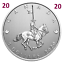 2020-Canada-039-s-National-Police-Force-Pure-Silver-5-Dollars-Coin-5-UNC-2020 thumbnail 1