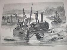 Russia Turkey war Turkish gun-boat lutfi Djelil won at Braila Romania 1877